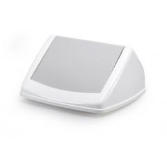 Deksel Durable Durabin FLIP LID Square 40 voor vuilnisbak 40l wit/grijs (8574051)