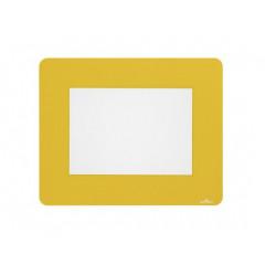 Vloermarkering Durable sticker kader voor A5 documenten verwijderbaar geel (10)