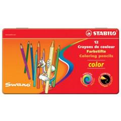 Kleurpotlood Stabilo Color assorti doos (12)