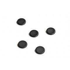 Magneet Legamaster voor glasborden Ø30mm zwart (5)
