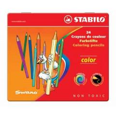 Kleurpotlood Stabilo Color assorti doos (24)