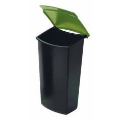 Inzetbakje Han Mondo Papiermand 3l zwart/groen