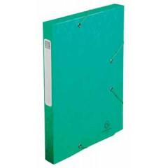 Elastobox Exacompta A4 karton 2,5cm groen