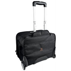 "Trolley Exacompta Exactive Exatrolley voor laptops tot 15,6"" zwart"
