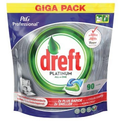 Vaatwastabletten Dreft All in One Platinum (90)