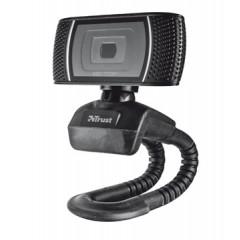 Webcam Trust HD ready video 720p zwart