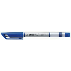 Fineliner Stabilo Sensor blauw