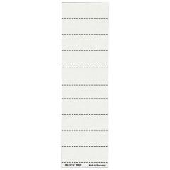 Ruiterstrook Leitz voor hangmap Alpha korte ruiter 60mm wit (100)