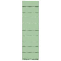 Ruiterstrook Leitz voor hangmap Alpha korte ruiter 60mm groen (100)