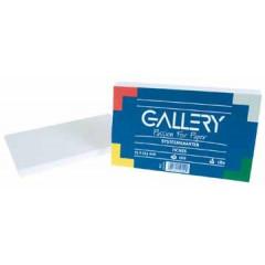 Systeemkaarten Gallery 7,5x12,5cm blanco wit (100)