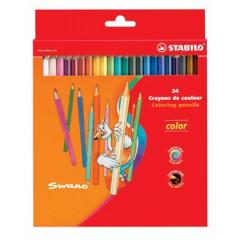 Kleurpotlood Stabilo Color assorti ophangdoos (24)