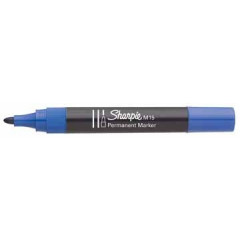 Marker Sharpie M15 Permanent ronde punt 2mm blauw