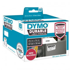Dymo LW duurzame labels 57x32mm wit (800)