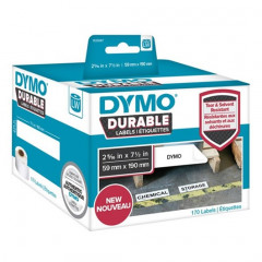 Dymo LW duurzame labels 59x190mm wit (170)
