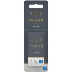 Inktpatroon Parker Quink koningsblauw (10)