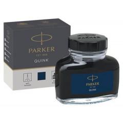 Inktpot Parker Quink blauw-zwart