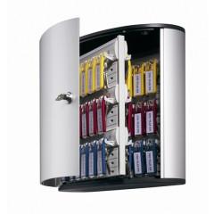 Sleutelkast Durable Key Box 54 sleutels met cilinderslot metaal-zilver