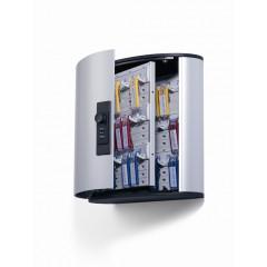 Sleutelkast Durable Key Box 36 sleutels met cijferslot metaal-zilver