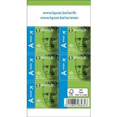 Postzegels Bpost Internationaal Koning Filip (50)