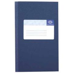 Notitieboek Jalema Atlanta A6 gelijnd 128blz blauw