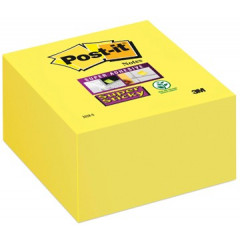 Memoblok Post-it Super Sticky 76x76mm neongeel