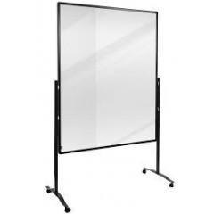 Scheidingswand Legamaster Premium Plus 150x120cm transparant
