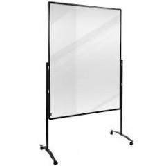 Scheidingswand Legamaster Premium Plus 150x100cm transparant