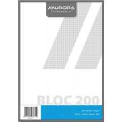 Kladblok Aurora A4 geruit 200 vel