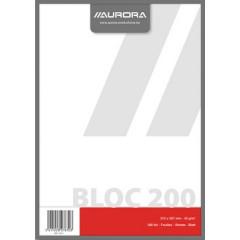 Kladblok Aurora A4 blanco 200 vel
