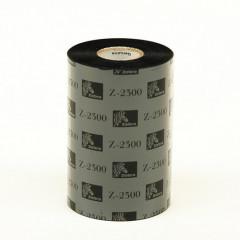 TTR lint 110mmx450m Zebra Z4M wax