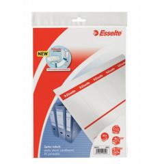 Rugetiket Esselte karton 130g kort breed printbaar wit (50)