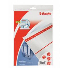 Rugetiket Esselte karton 130g kort smal printbaar wit (80)