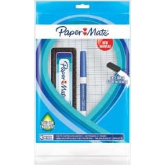 Whiteboardset Paper Mate whiteboard, marker en inktwisser