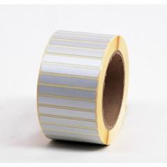 Etitft 3m label 60x8mm matwit op rol (3000