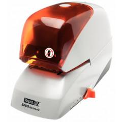 Elektrische nietmachine Rapid Supreme R5050e 50vel wit/oranje (2993214)