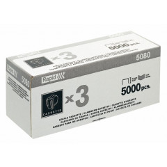 Nietcassette Rapid voor elektrische nietmachine Supreme R5080E 3x5000