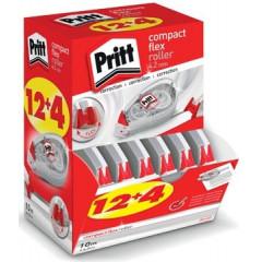 Correctieroller Pritt Compact Flex 4,2mmx10m 12+4 gratis