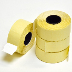 Etiket Blitz op rol voor etiketteertang S16/S12 16x26mm permanent wit (1100x36 R)