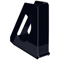 Tijdschriftencassette Esselte Europost Vivida PP A4 72mm zwart