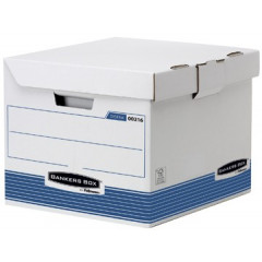 Archiefcontainer Fellowes Bankers Box 29,3x35x37cm blauw