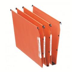 Hangmap Esselte Orgarex Dual Visicontrol karton A4 330mm 30mm bodem kast oranje (25)(2210700)