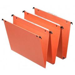 Hangmap Esselte Orgarex Dual Uniscope karton A4 330mm 15mm bodem lade oranje (25)(1010700)