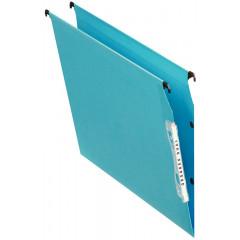 Hangmap Esselte Orgarex Dual Visicolor karton A4 330mm V-bodem kast blauw (25)