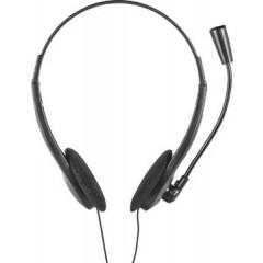 Headset Trust Primo lichtgewicht met microfoon zwart