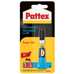Secondelijm Pattex Supergel 3g