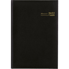 Agenda Brepols Minister Lima zwart 2020 1 dag/pagina