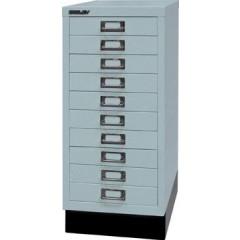 Ladenkast Bisley A4 10 laden zilver/grijs zonder slot