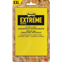 Memoblok Post-it Extreme 114x171mm 25vel assorti (2)