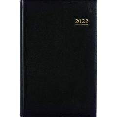 Agenda Brepols Saturnus Lima zwart 2020 2 dagen/pagina