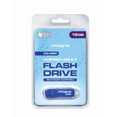 USB-stick Integral Courier 2.0 16GB blauw